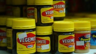 Jars of Vegemite