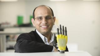 Solar Powered Skin For Prosthetic Limbs Bbc News