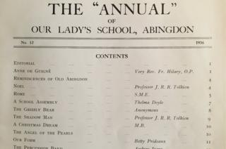 Annual contents page