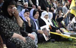 Yazidi Protest Against Attacks In Iraq