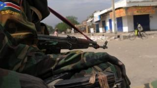South Sudanese government soldiers. File photo