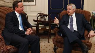 David Cameron and Carwyn Jones