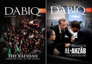 Copies of Dabiq