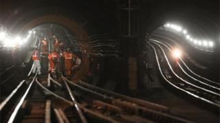 Underground workers