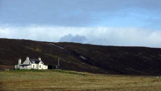 house on Shetland
