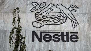 Nestle sign