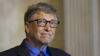Bill Gates, co-chair of the Bill and Melinda Gates Foundation and founder of Microsoft,