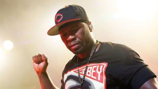 The American rapper 50 Cent