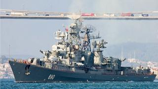 Smetlivy - photo taken from the Russian defence ministry's website
