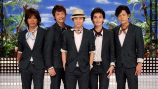 Japan's popular SMAP boy band
