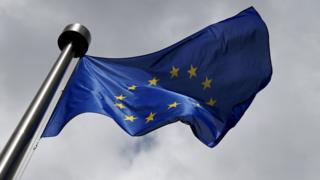 A European Union flag