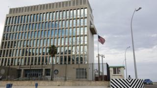 The US Embassy in Havana on 17 September 2015