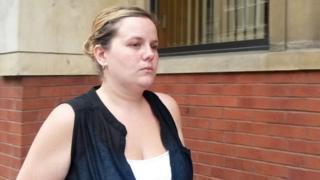 Caroline Starmer outside court