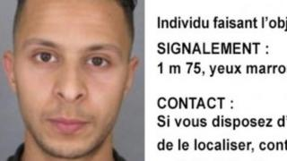 Photo of Salah Abdeslam issued by French police