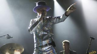 Gord Downie performing on 10 August