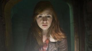 Karen Gillan as Amy Pond in Doctor Who