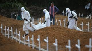 Ebola burials