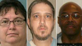 Death row inmates Kelly Gissendaner, Richard Glossip and Kimber Edwards