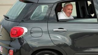 Pope in Fiat