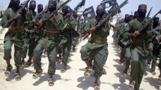 Al-Shabab fighters