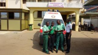 ghana ambulance