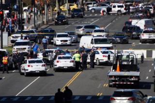 the crash scene