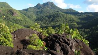 Mahé is the largest island in the Seychelles archipelago