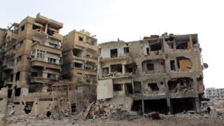 Syria aid convoy denied entry to town