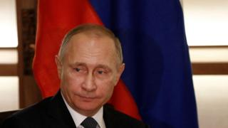Russia's President Vladimir Putin in Japan.