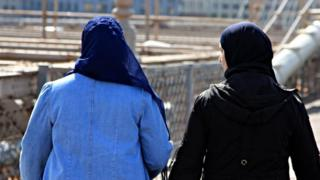 Muslim women in the US. Archive picture