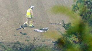 Chigwell aircraft crash site