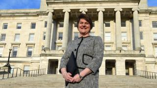 Northern Ireland first minister and DUP leader Arlene Foster
