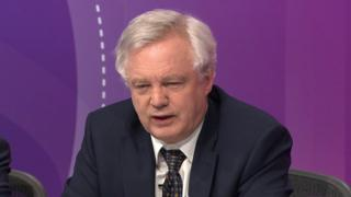 Immigration should arise and tumble after Brexit, David Davis says