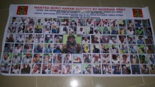 Photos of suspected Boko Haram leaders