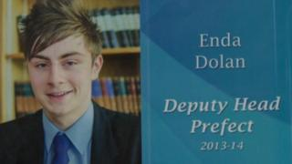 Enda Dolan was a first year architecture student at Queen's University