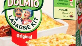 A Dolmio lasagne kit