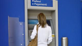 A Rome cashpoint - file pic