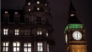 Parliament sits after dark