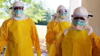 Ebola healthcare workers