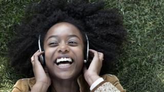 Headphone wearer