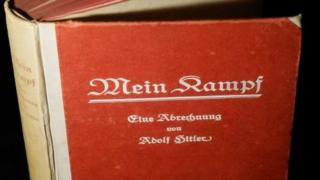 A first edition of Hitler's Mein Kampf. File photo