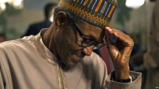 Nigerian President Muhammadu Buhari, pictured in July 2015