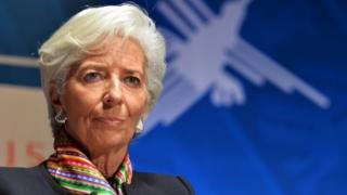 IMF chief Christine Lagarde. Photo: October 2015