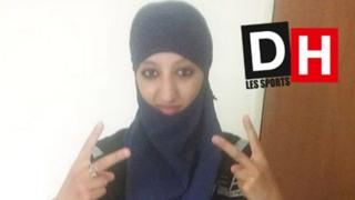 Undated photo of Hasna Aitboulahcen