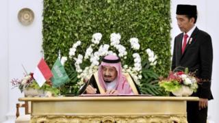 Raja Salman, Arab Saudi, Indonesia, Jokowi