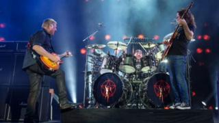 Rush on stage