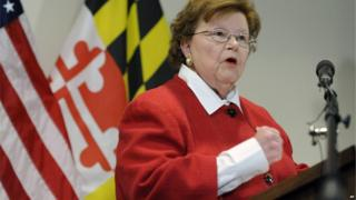 Democrat Barbara Mikulski of Maryland is the 34th senator to support the Iran deal
