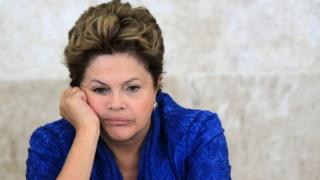 Brazil's President Dilma Rousseff attends a meeting of the Brazilian Forum on Climate Change in Brasilia June 5, 2013