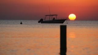 Cayman Islands sea sunset