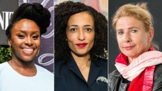Chimamanda Ngozi Adichie, Zadie Smith and Lionel Shriver